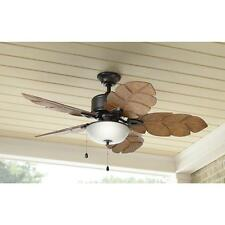Palm Cove 52 in. Indoor/Outdoor Natural Iron Ceiling Fan