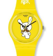 "SWATCH GENT KIDROBOT SPECIAL ""ski instructor"" (gj130std) MERCE NUOVA"