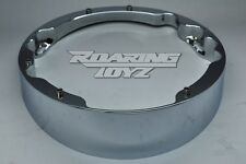 HARLEY DAVIDSON CHROME RAKED HEADLIGHT BEZEL FOR STREET GLIDE ELECTRA ROAD KING