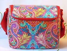NWT Vera Bradley Stay Cooler Lunch Tote Paisley in Paradise