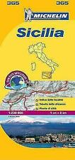 Maps/Local (Michelin): Sicilia by Michelin (2011, Map, Other)