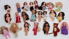 "Vtg Lot of 21 Barbie Mattel Kelly & Friends 4"" small doll's 1994 & 2 of 2006"