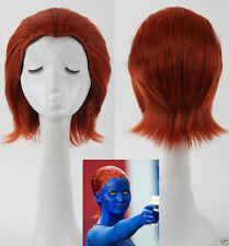 Fashion Party The X-men Mystique Raven Cosplay Wig Woman Short Figurative Hair