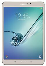 "Samsung Galaxy Tab S2 8.0"" 32GB Tablet 3GB Wi-FI 8mp SM-T713NZDEXAR Gold NEW"