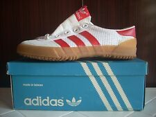 DEADSTOCK RARE ADIDAS VOLLEY INDOOR CANVAS SNEAKERS TRAINERS CASUALS 80 SZ4 VTG