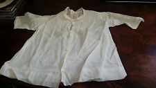 Vintage / Antique Imported Hand Embroidered Baby Gown / Nightdress