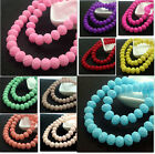 New 40pcs Painted Crystal Rubber paint Glass Rondelle Faceted Spacer Beads 8mm