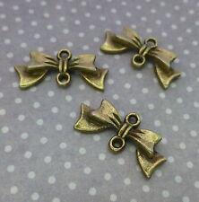 20 Piezas de Conectores de Bronce Antiguo/Arco vínculos