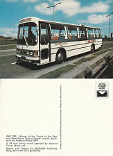 1977 COACH OF THE YEAR OKY 70R NATIONAL TRAVEL UNUSED COLOUR POSTCARD