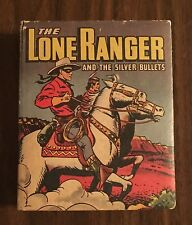 The Lone Ranger and the Silver Bullets, Big/Better Little Book 1498, Very Good!