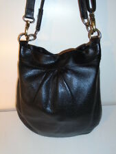ROOTS  LARGE BLACK PRINCE  OLIVIA ALL LEATHER SHOPPER BAG TOTE RETAIL $288.00