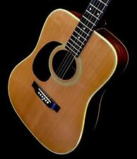 LEFTY! Vintage 1977 Ibanez 645 Concord Series Acoustic Guitar Left HSC Japan MIJ