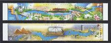 SINGAPORE 2011 EGYPT JOINT ISSUE (SIGNIFICANT RIVERS) COMP. SET OF 2 STAMPS MINT