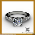 2.80TCW ROUND BRILLIANT CUT ENGAGEMENT RING 14K SOLID WHITE GOLD NOW ON SALE!!!!