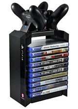 PLAYSTATION 4: ps4 supporto di ricarica F. 2 CONTR. Games Tower Numskull NUOVO & OVP