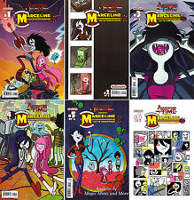 Adventure Time MARCELINE AND THE SCREAM QUEENS (6) Issue SET #1 2 3 4 5 6 1st