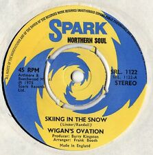 "Wigan's Ovation - Skiing In The Snow 7"" Single 1975"