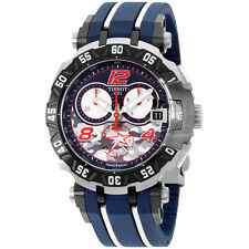Tissot T-Race Blue Dial Blue Silicone Strap Men's Watch T0924172705703