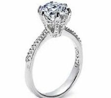 Tacori HT2507RD7-1.25 ctr diamond engagement ring .17tcw Platinum sz 61/2 NWT