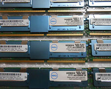 MICRON 64GB (8 x 8GB) PC2-5300F 4Rx4 DDR2 SERVER RAM DELL 2950 HP DL380 G5