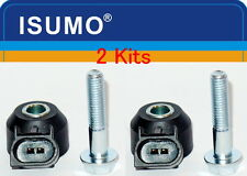 Set 2 Pc 12570215 Knock (Detonation) Sensor Fits: GM Hummer Isuzu Saab Saturn