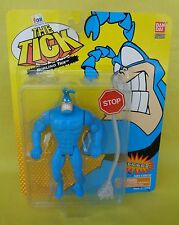 THE TICK Blue Action Figure HURLING TICK Series 2 New/Sealed BAN DAI 1995 A+