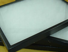 """2-8""""X 12"""" X 2""""Jewelry display cases Riker Mount antique shows Collectors Box"""