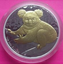 2009 AUSTRALIAN  SILVER GOLD KOALA $1 ONE DOLLAR  COIN ISSUED BY PERTH MINT