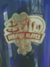 BUFFY PINT GLASS COBALT BLUE WITH LICENSED LOGO BRAND NEW OOP RARE  LAST ONE!!
