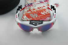 Oakley O Rokr Pro Bluetooth White Positive Red Iridium XL Limited Ed Iphone Siri