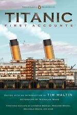 Penguin Classics Deluxe Edition: Titanic First Accounts (2012, Paperback,...