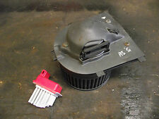 Audi A3 fan heater blower motor & resistor 1J0907521 1J2819021 Inc VAT