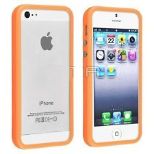 Bumprer  case  for IPHONE 5S   with  Metal  Button