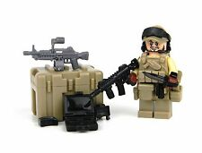 Green Beret SF ODA Team Member Minifig (SKU26) made with real LEGO® minfigure