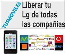 Liberar LG E900 Optimus 7 KG290 KE970 Shine KU800 KG190 LG 510w E2 X3 GT550 T500