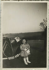 PHOTO ANCIENNE - VINTAGE SNAPSHOT - ENFANT VOITURE CITROËN MODE - CHILD CAR