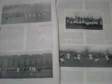 Photo article England Ireland Ruby & Cambridge Oxford football 1904  my ref R