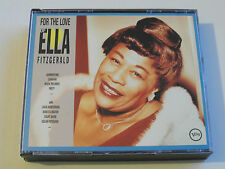 For The Love Of Ella Fitzgerald (2 x CD Album) Used good