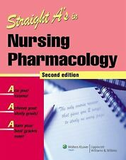 Straight A's in Nursing Pharmacology by Springhouse