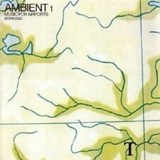 BRIAN ENO - AMBIENT1/MUSIC FOR AIRPORTS-REMASTER 2004  CD 4 TRACKS AMBIENT  NEU