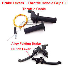 Brake Clutch Lever Grip Cable For CRF50 Pit Dirt Bike 90cc 110cc 125cc Thumpstar