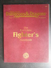 "Manuel ""AD&D TSR - 2nd Edition - the complete fighter's handbook"" 1995"