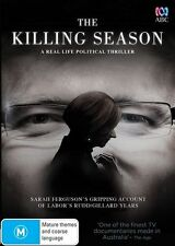 The Killing Season (DVD, 2015)Gillard-Rudd years*R4*Like New*