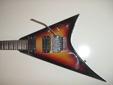 New Sunburst Flying V 6 String Electric Guitar with Gig Bag