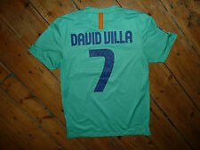 David VILLA # 7 Barcelone football moyen away shirt Homme Ville Football 2010-2011