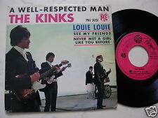 THE KINKS A Well-Respected Man + 3 *FRENCH 4Track EP PYE VOGUE PNV24151*