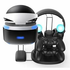 PS VR Charger Stand, FastSnail All in One Charging Station or Display Stand for