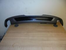 AUDI TT TTS MK2 S LINE REAR BUMPER TWIN EXHAUST DIFFUSER WITH GRILL genuine oem