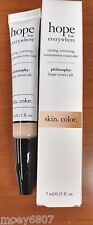 New! .23z Philosophy HOPE for EVERYWHERE Continuous Concealer Makeup ~4.5 Light~