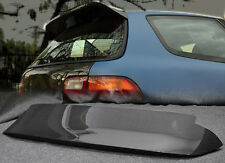 Pop Rear Duckbill Spoiler Wing For Honda 92-95 EG Civic Spon Style Carbon Fiber